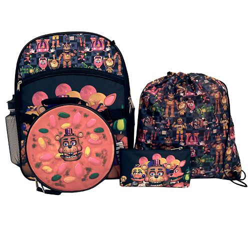 Five Nights At Freddy/'s 5-Piece Backpack Set
