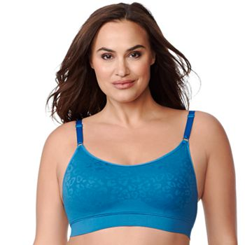 3b255e34e5076 Olga Easy Does It Seamless Wire-free With Animal Jacquard GM9401A