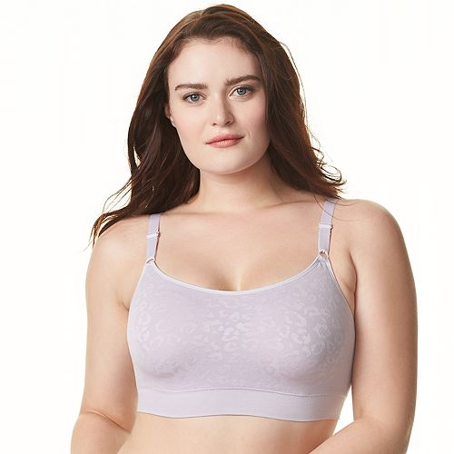 Olga Easy Does It Seamless Wire-free With Animal Jacquard GM9401A