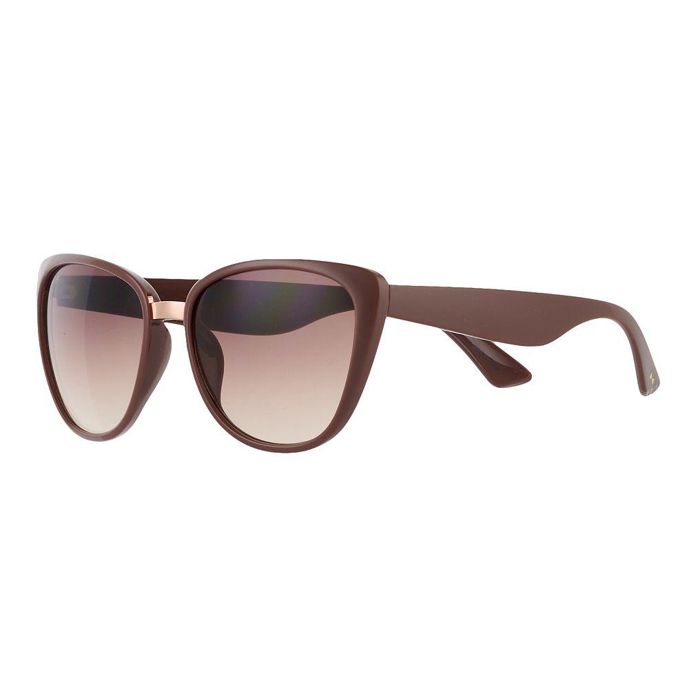 LC Lauren Conrad Rose 55mm Modified Cat-Eye Gradient Sunglasses