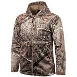 Men's Huntworth Camo Heavyweight Softshell Hunting Jacket