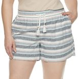 Plus Size SONOMA Goods for Life? Beach Shorts