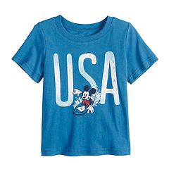 Disney's Mickey Mouse Baby Boy 'USA' Graphic Tee by Jumping Beans®
