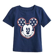 3adfb38825 Disney's Mickey Mouse Toddler Boy Patriotic Stars Graphic Tee by Jumping  Beans®