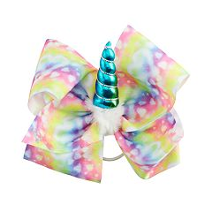 Girls 4-16 JoJo Siwa Watercolor Heart Unicorn Hair Bow