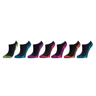 Girls 4-16 SO® 7-Pack Microfiber No-Show Socks