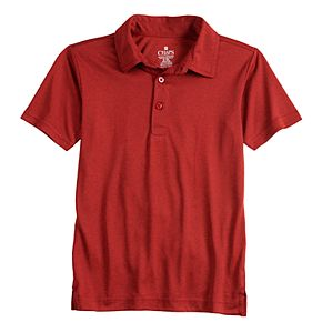 Boys 4-20 Chaps Marled Performance Polo