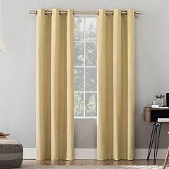 Sun Zero 2-pack Sorel Total Thermal Blackout Window Curtains