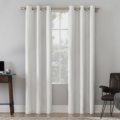 Sun Zero 2-pack Felix Thermal 100% Blackout Window Curtains