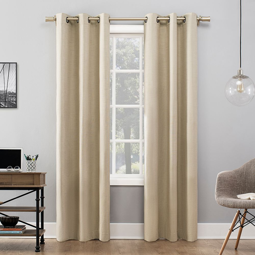 Sun Zero Ellis Thermal 100% Blackout Window Curtains