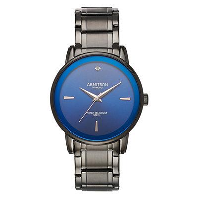 Armitron Men's Diamond Accent Watch - 20-5263NVDG