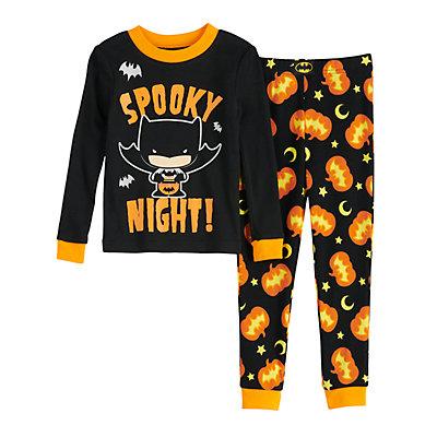 Toddler Batman Halloween Pajama Set