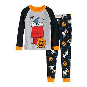 Toddler Snoopy Halloween Pajama Set