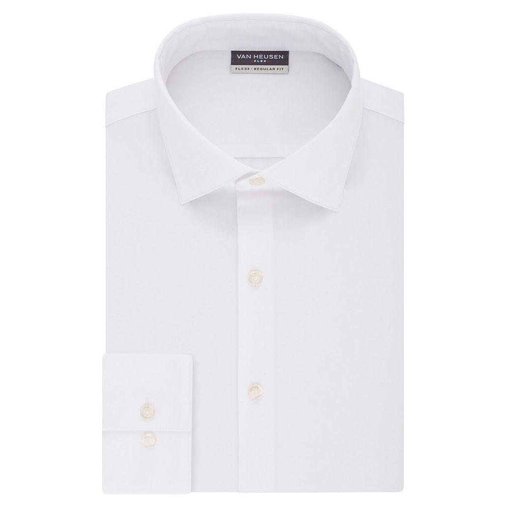 Men's Van Heusen Flex 3 Regular-Fit 4-Way Stretch Dress Shirt