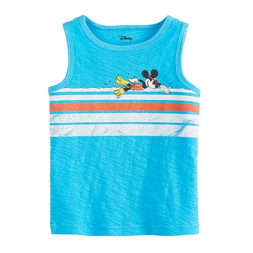 Disney's Mickey Mouse Baby Boy Slubbed Tank Top by Jumping Beans®