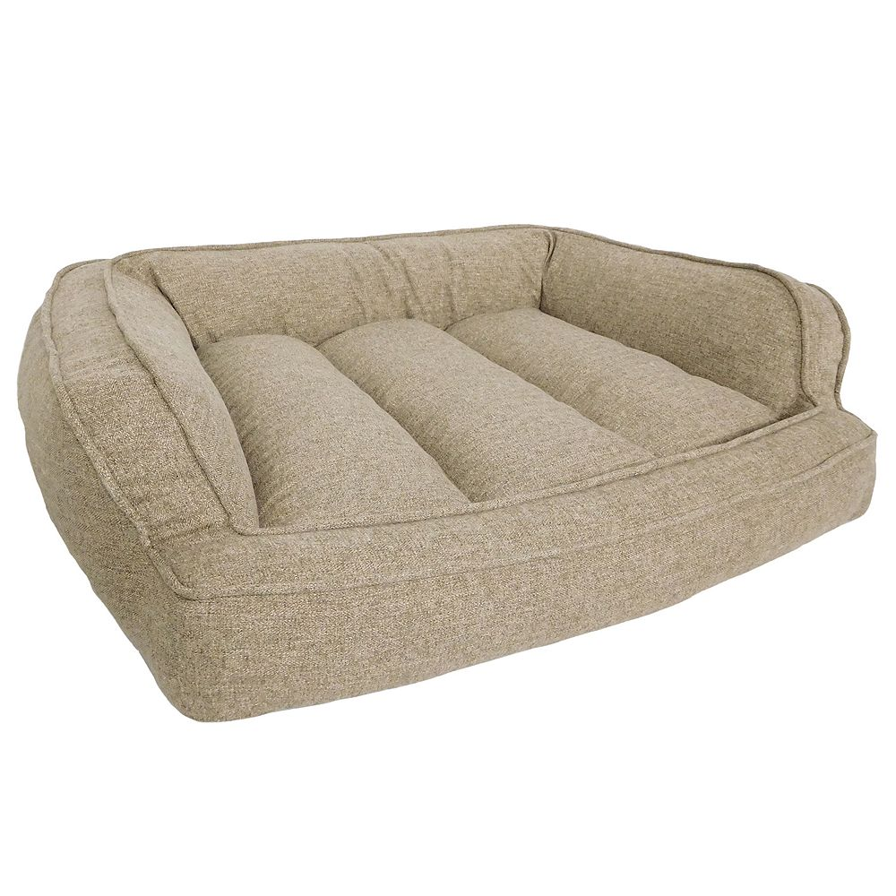 Arlee Memory Foam Sofa and Couch Style Pet Bed