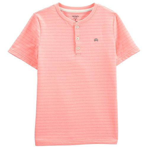 Boys 4-14 Carter's Pin Stripe Henley