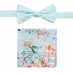Men's Apt. 9® Pre-Tied Prom Bow Tie & Pocket Square