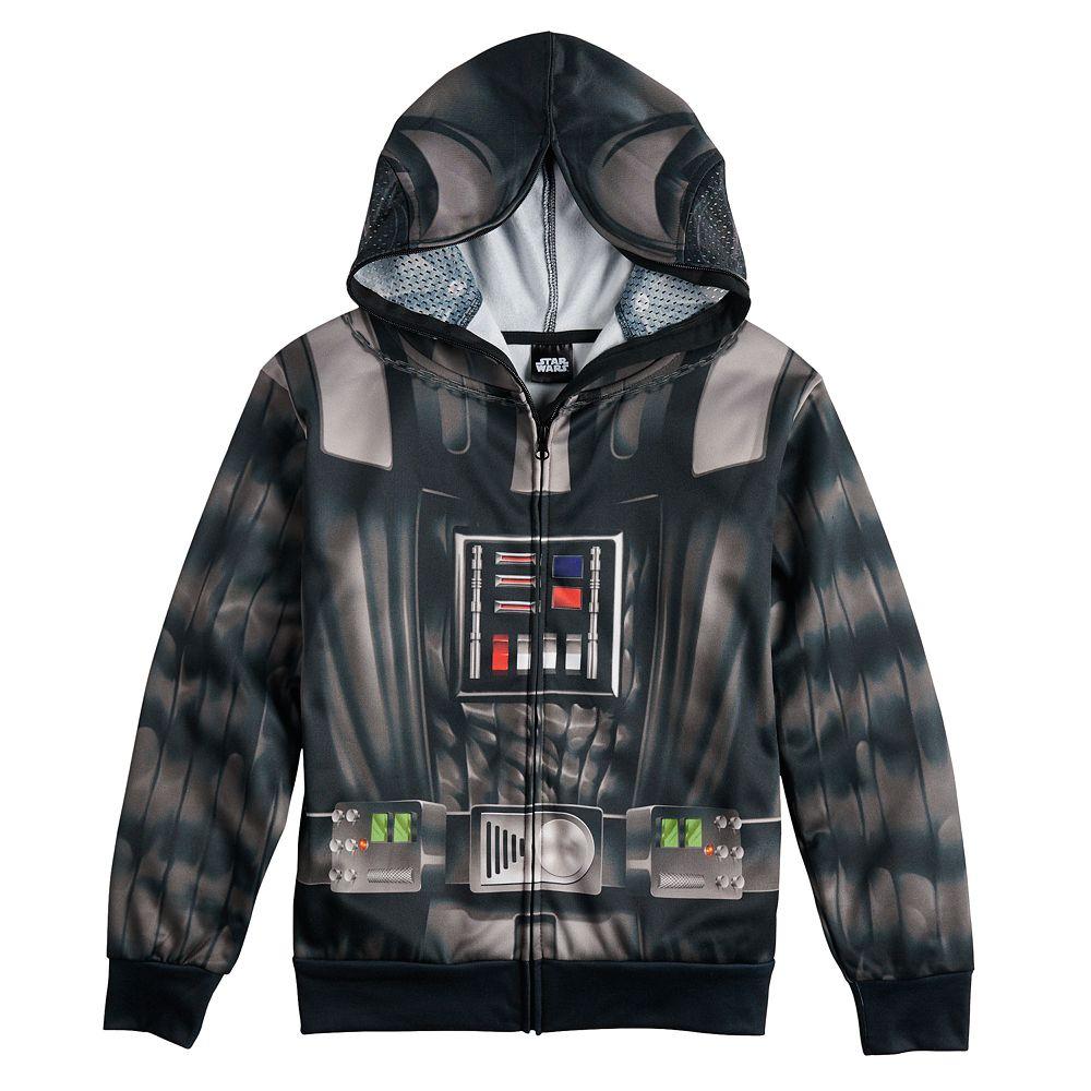 Boys 8-20 Star Wars Darth Vader Full-Zip Hoodie