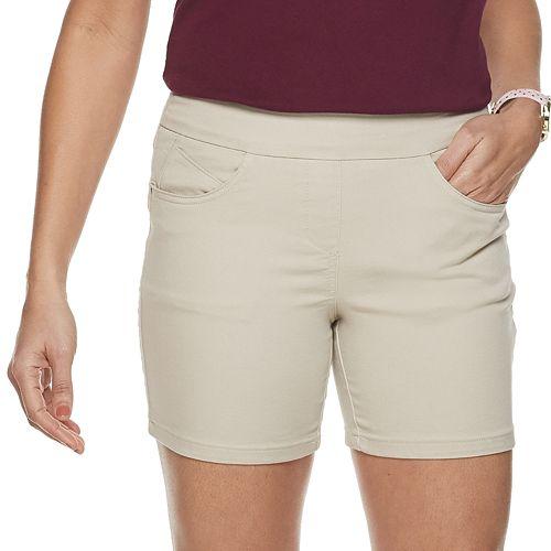 Petite Briggs Pull-On Shorts
