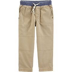 Toddler Boy Carter's Pull On Everyday Pants