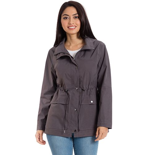Women's Bagatelle Sport Hooded Anorak Rain Jacket