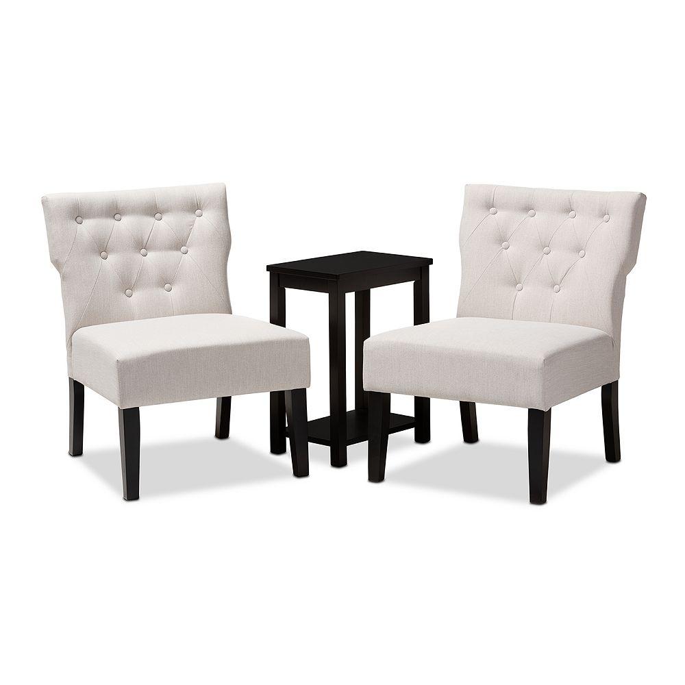 Baxton Studio Lerato Chair and Table Set