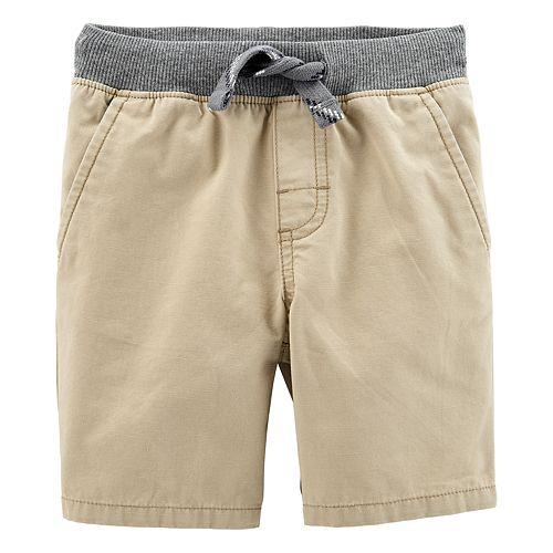 Toddler Boy Carter's Pull On Dock Shorts