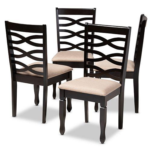 Baxton Studio Lanier Dining Chair Set