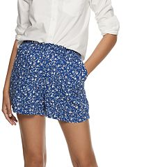 Women's POPSUGAR Printed Pull-On Shorts