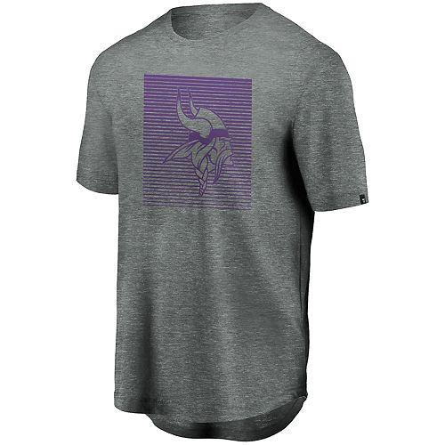 Men's Minnesota Vikings Versa Tech Crewneck Short Sleeve Tee