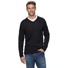 f55448faa51 Mens V-Neck Sweaters - Tops, Clothing | Kohl's
