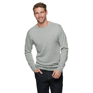 Men's Apt. 9® Merino Wool-Blend Crewneck Sweater