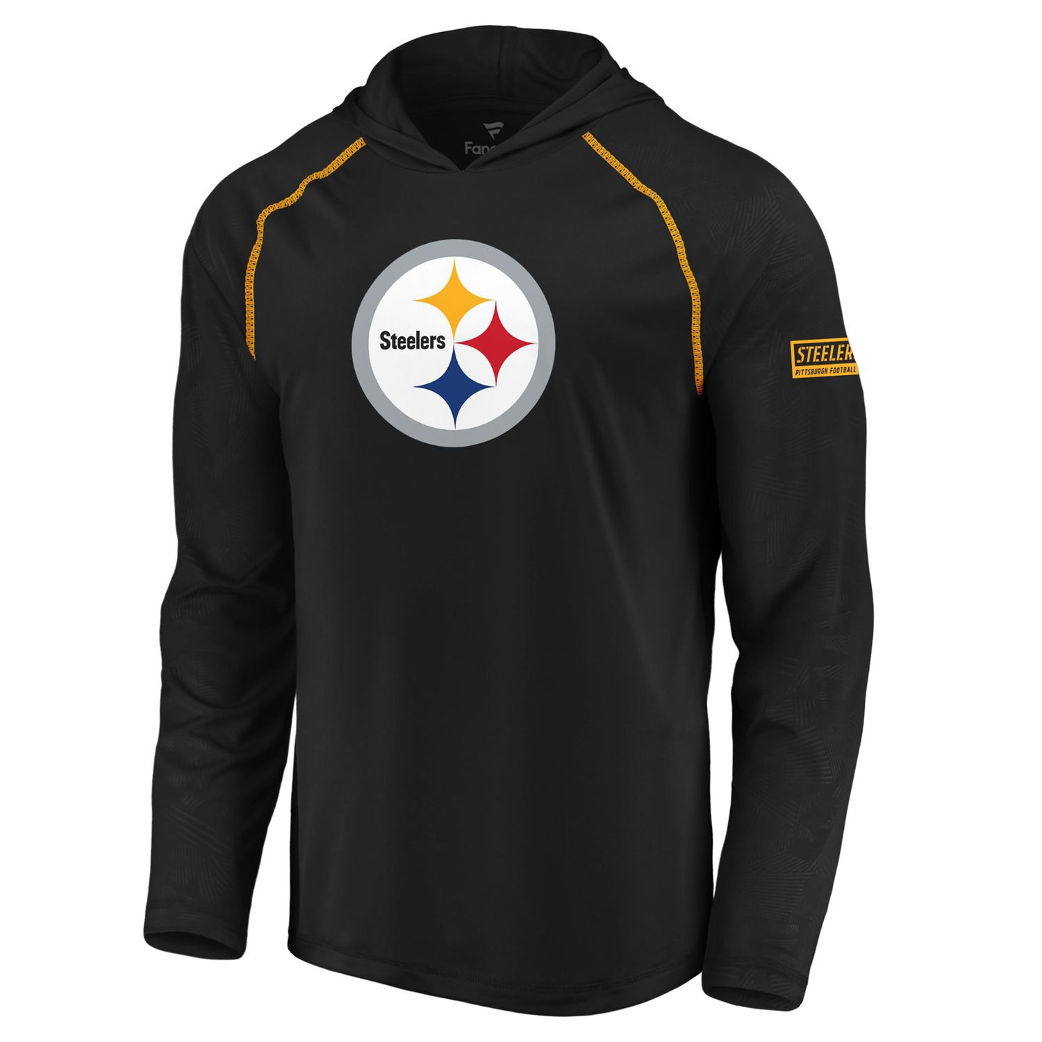 premium selection 0d50a 4f906 Men's Pittsburgh Steelers Defender Logo Hoodie