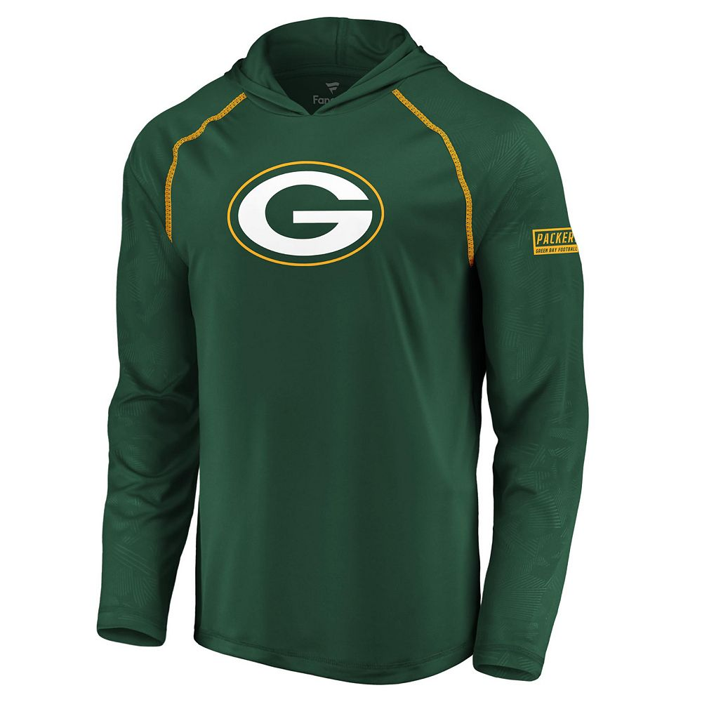 Men's Green Bay Packers Defender Logo Hoodie
