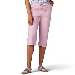 Women's Lee Flex-To-Go Drawstring Skimmer Cargo Capris