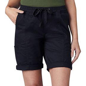 Petites Lee Flex to Go Pull On Bermuda Shorts
