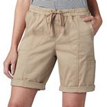 Petites Lee Flex to Go Pull On Bermuda Shorts