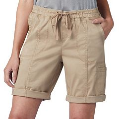 Women's Lee Flex-To-Go Pull-On Bermuda Shorts