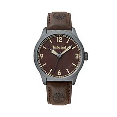 8cf66ca1155 Timberland Men's Brown Dial Faux Leather Watch - TBL15904JYU12