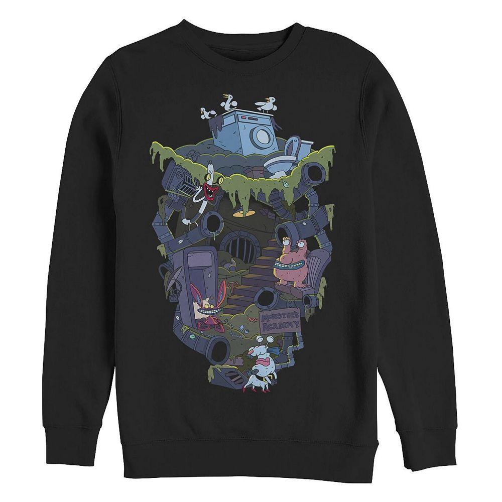 Juniors' Aaahh!!! Real Monsters Graphic Sweatshirt