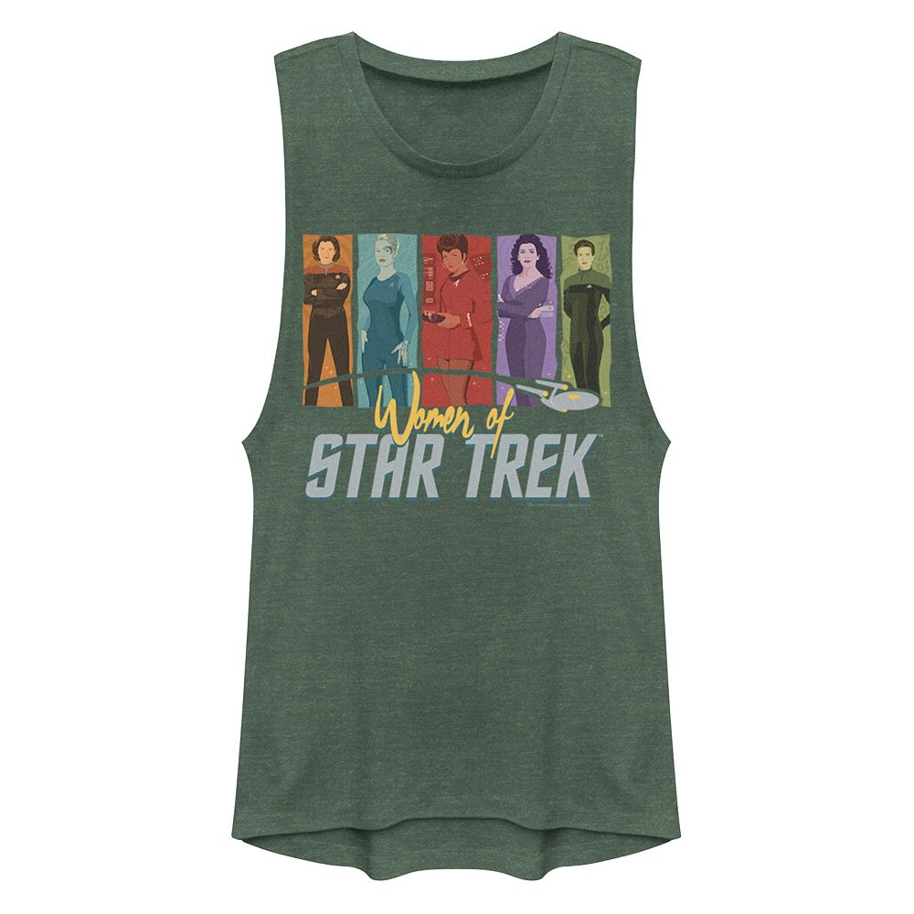 Juniors' StarTrek Women of Trek Graphic Muscle Tank