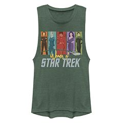 Star Trek 8 Bit Engineering Adult Tank Top