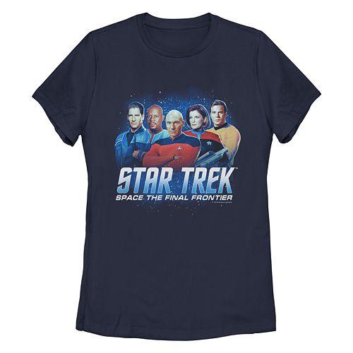 Juniors' StarTrek Space Captains Graphic Tee
