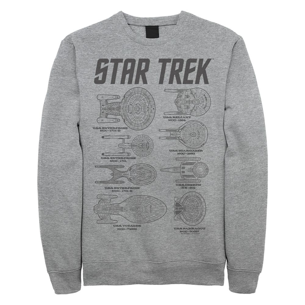 Juniors' Star Trek Multiple Ships Graphic Sweatshirt