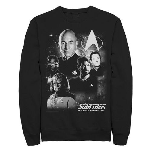 Juniors' Star Trek: TheNextGeneration Vintage Graphic Sweatshirt