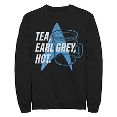 Juniors' Star Trek: The Next Generation 'Tea' Graphic Sweatshirt