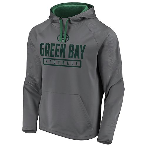 newest bf8c1 393e0 Mens NFL Green Bay Packers Defender Primary Logo Pullover