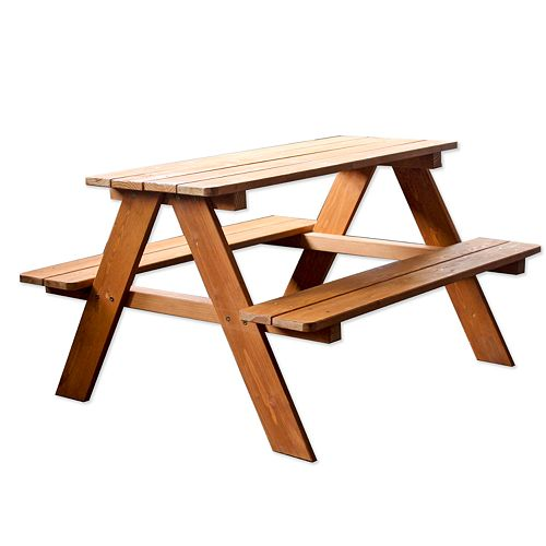 Homewear Wood Kids Picnic Table