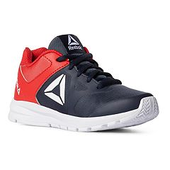 d9ee4170009 Reebok Rush Runner Boys  Sneakers. Navy Red